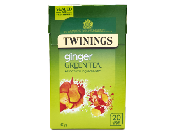 Twinings Ginger Green Tea (20)